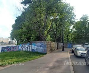 МФК «на наб. Малой Невки, 4»: общий вид с набережной  р. Малая Невка.