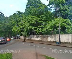 МФК «на наб. Малой Невки, 4»: вид с ул. Набережная Малой Невки.