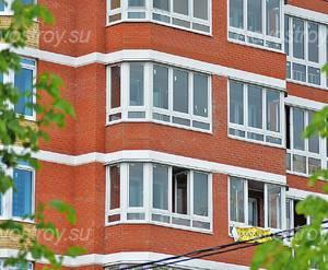 ЖК «Дом на улице Школьная, 4»: Фрагмент фасада