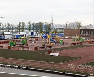 ЖК «Union»: детская площадка на придомовой территории