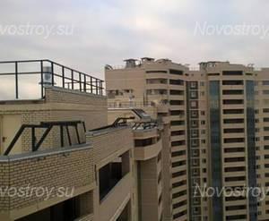 ЖК «Лесная Сказка»: вид с крыши