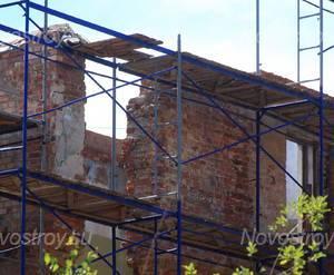 ЖК «Дом Цезаря Кавоса»: фасад с придомовой территории.