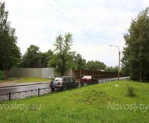 ЖК «Дом на улице Красных Партизан»: общий вид с прилегающей территории.