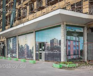 МФК «Loft Park»: планируемый вход в апарт-комплекс