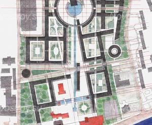 ЖК на Октябрьской набережной (визуализация)