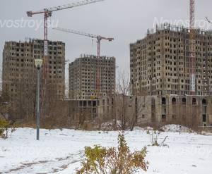ЖК «Академ-Палас»: Общий вид со стороны проспекта Вернадского