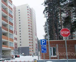 ЖК «Успенский»: въезд на территорию комплекса