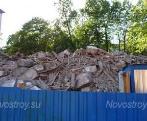 Жилой комплекс на Благодатной улице:  снос аварийного здания