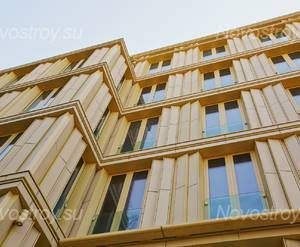 МФК «Крестовский, 12»: фасад
