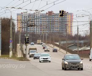 ЖК «Северный» (Подольск): вид со стороны улицы Комсомольская