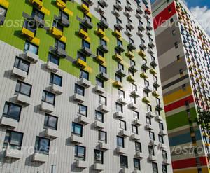 ЖК «Ярцевская 24»: фрагмент фасада