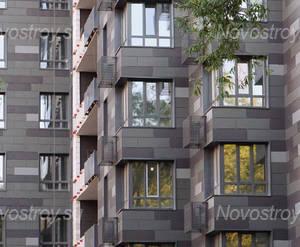 ЖК «Клубный дом «Концепт House»: фрагмент фасада