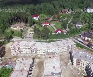 Малоэтажный ЖК «Черничная поляна»: ход строительства