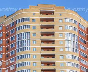 ЖК «Дом на улице Кирова»: Внешняя угловая секция между двумя крыльями здания