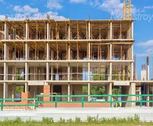 ЖК «на улице Кирова (мкр. Центральный)»: Построено 4 этажа