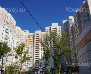 ЖК «Южный» (Красногорск): Фрагмент корпуса. 23.09.2017