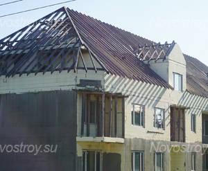 Малоэтажный ЖК «Метелица»: Фрагмент 3 корпуса. 23.09.2017