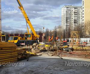 ЖК  «Дом на Аминьевском шоссе»: ход строительства