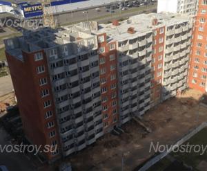 ЖК «Ивановские дворики»: ход строительства дома №8