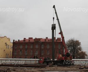 ЖК «Георг Ландрин» Ход строительства: Октябрь 2017