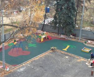 ЖК «Апельсин»: детская площадка