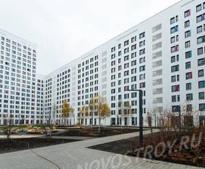 ЖК «Green Park»: ход строительства блока №1