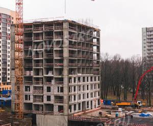 ЖК «Левобережный»: ход строительства корпуса №7.2