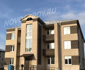 Малоэтажный ЖК «Борисоглебское»: ход строительства корпуса №158 из группы застройщика
