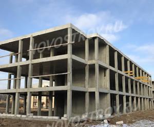 Малоэтажный ЖК «Борисоглебское»: ход строительства корпуса №160 из группы застройщика