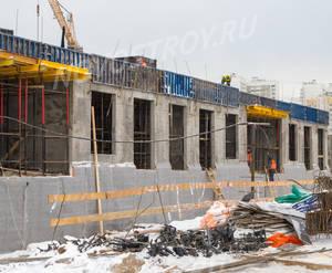 ЖК «Полярная 25»: ход строительства корпуса №1.2