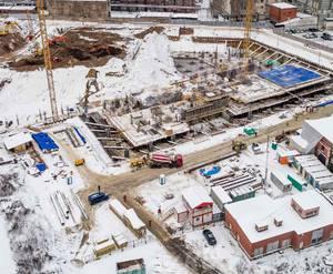 МФК «Серебряный фонтан»: ход строительства