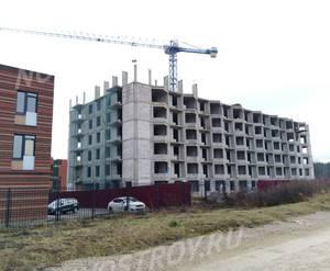 Малоэтажный ЖК «Андерсен»: ход строительства дома №6
