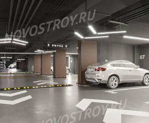 МФК STORY: визуализация паркинга