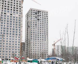 ЖК «Левобережный»: ход строительства корпуса №1.2