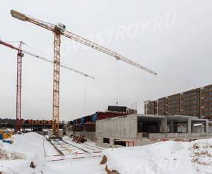 ЖК «Пироговская Ривьера»: ход строительства корпуса №10