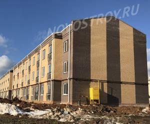 Малоэтажный ЖК «Борисоглебское»: ход строительства корпуса №203