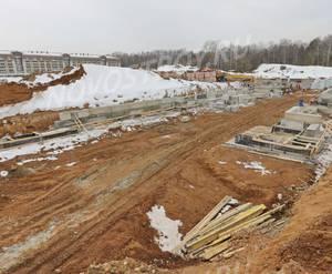 Малоэтажный ЖК «Театральный парк»: ход строительства корпуса №15