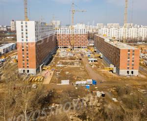 ЖК «Ясеневая 14»: ход строительства блок №1