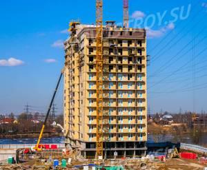 ЖК «ЖИВИ! в Рыбацком»: ход строительства ФЗУ 13