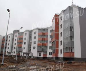 Малоэтажный ЖК «Новый Петергоф»: ход строительства корпуса №4.2 из группы застройщика