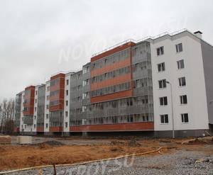 Малоэтажный ЖК «Новый Петергоф»: ход строительства корпуса №4.4 из группы застройщика