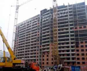 ЖК «Виктория» (Мурино): ход строительства корпуса №3