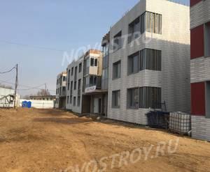 Малоэтажный ЖК «Пеликан»: ход строительства корпуса №1,2,3