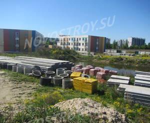 Строительство ЖК «Город Детства» (май, 2018)