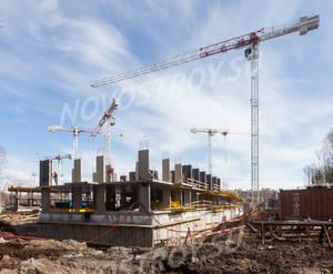 Малоэтажный ЖК «Юнтолово»: ход строительства 4 очереди