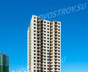 ЖК «Новая Охта»: ход строительства дома №8