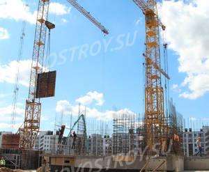 Малоэтажный ЖК «Новый Петергоф»: ход строительства 5 очереди