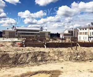 Малоэтажный ЖК «Петровская мельница»: ход строительства блока K3