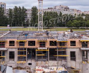 ЖК «Дальневосточный 15»: ход строительства корпуса 1А