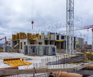 ЖК «Дальневосточный 15»: ход строительства корпуса 3А